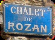 Éco gîte et chambre d'hôtes Chalet de Rozan